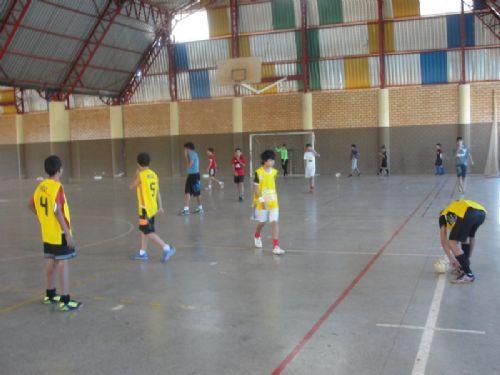 1cdc9eb718ec3 Escolinha Municipal de Futsal realiza Campeonato Interno ...