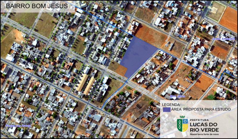 (Foto: Sec. Planejamento e Cidade/ Georeferenciamento)