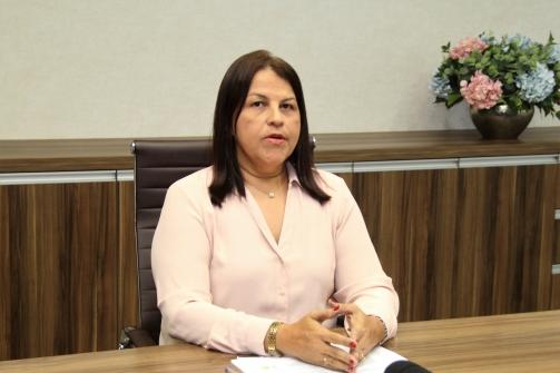 Secretario(a) de Assistência Social - Lucileide Queiroz Gurka